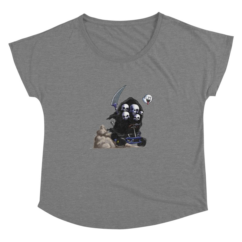 Dark Souls Invades Mario Kart (Gravelord Nito) Women's Dolman by Keith Noordzy's Artist Shop