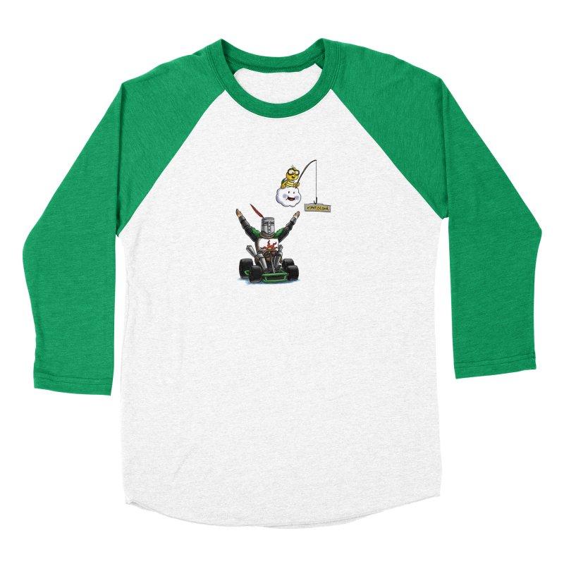 Dark Souls invades Mario Kart (Solaire of Astora) Men's Longsleeve T-Shirt by Keith Noordzy's Artist Shop