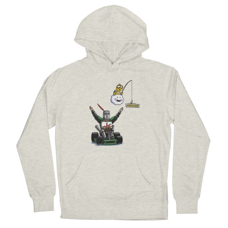 Dark Souls invades Mario Kart (Solaire of Astora) Women's French Terry Pullover Hoody by Keith Noordzy's Artist Shop