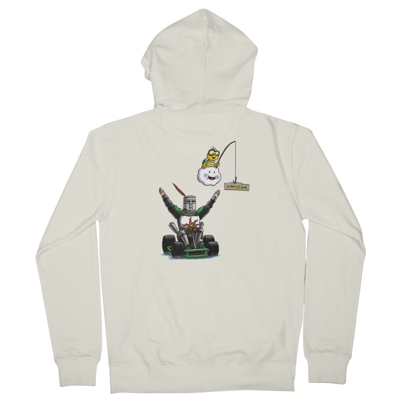 Dark Souls invades Mario Kart (Solaire of Astora) Women's French Terry Zip-Up Hoody by Keith Noordzy's Artist Shop