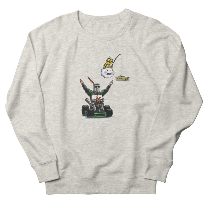 Dark Souls invades Mario Kart (Solaire of Astora) Women's Sweatshirt by Keith Noordzy's Artist Shop