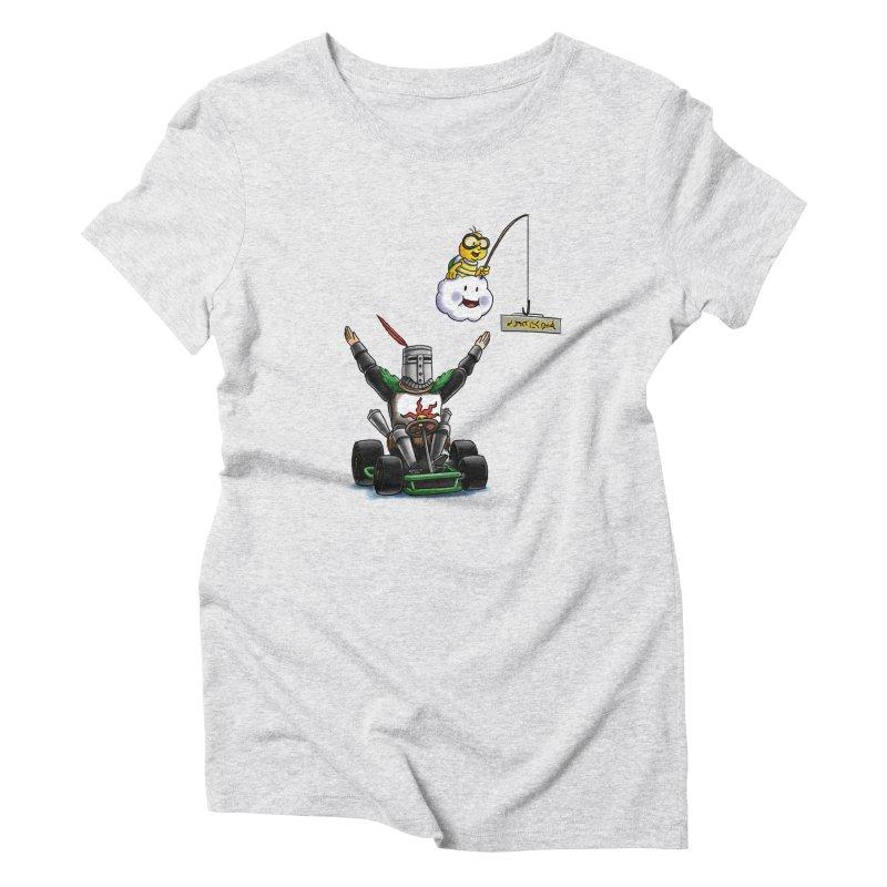 Dark Souls invades Mario Kart (Solaire of Astora) Women's T-Shirt by Keith Noordzy's Artist Shop