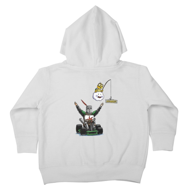Dark Souls invades Mario Kart (Solaire of Astora) Kids Toddler Zip-Up Hoody by Keith Noordzy's Artist Shop