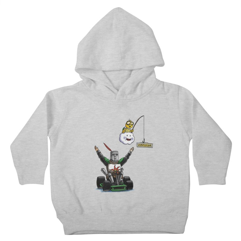Dark Souls invades Mario Kart (Solaire of Astora) Kids Toddler Pullover Hoody by Keith Noordzy's Artist Shop
