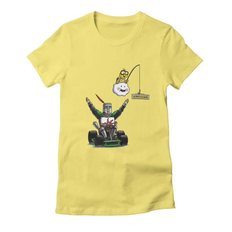 Dark Souls invades Mario Kart (Solaire of Astora) Women's T-Shirt by Keith Noordzy's Artist Shop