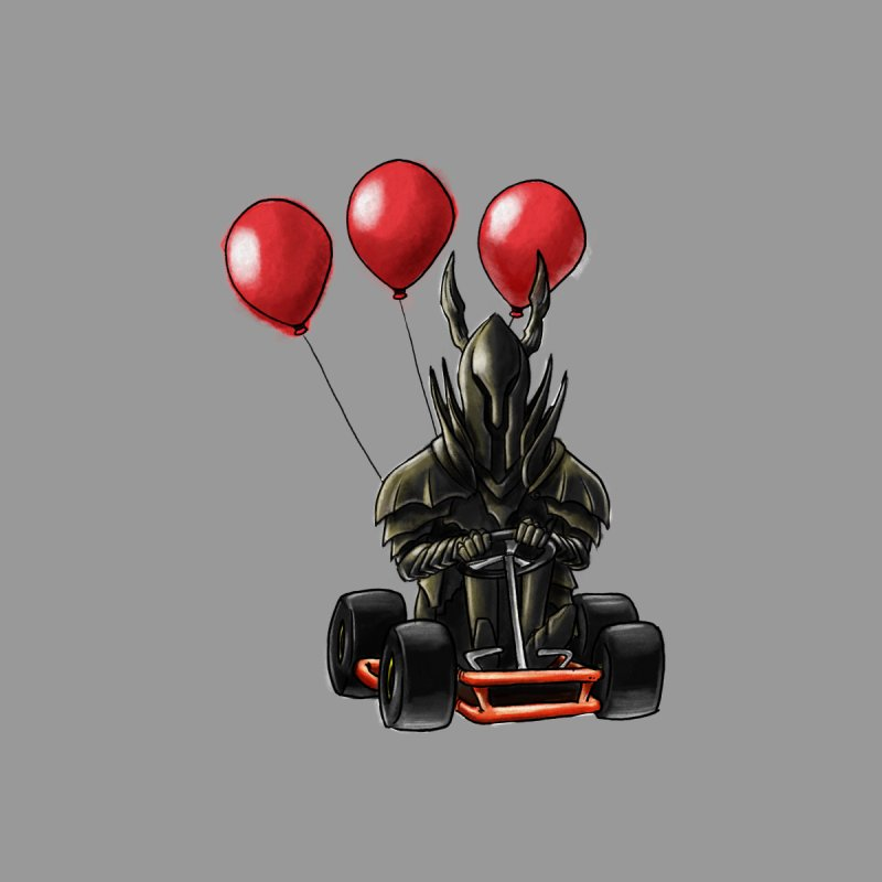 Dark Souls invades Mario Kart (Black Knight) by Keith Noordzy's Artist Shop