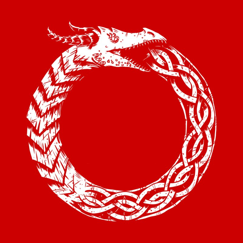 Jörmungandr Men's T-Shirt by Keith Noordzy's Artist Shop