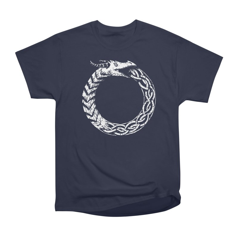 Jörmungandr Men's Heavyweight T-Shirt by Keith Noordzy's Artist Shop