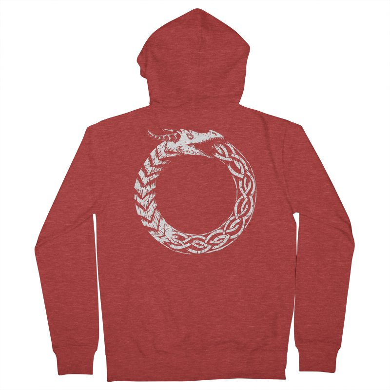 Jörmungandr Women's Zip-Up Hoody by Keith Noordzy's Artist Shop