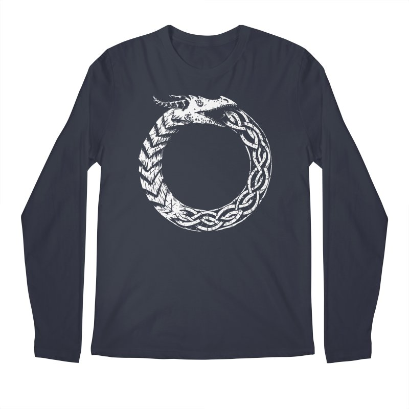 Jörmungandr Men's Regular Longsleeve T-Shirt by Keith Noordzy's Artist Shop