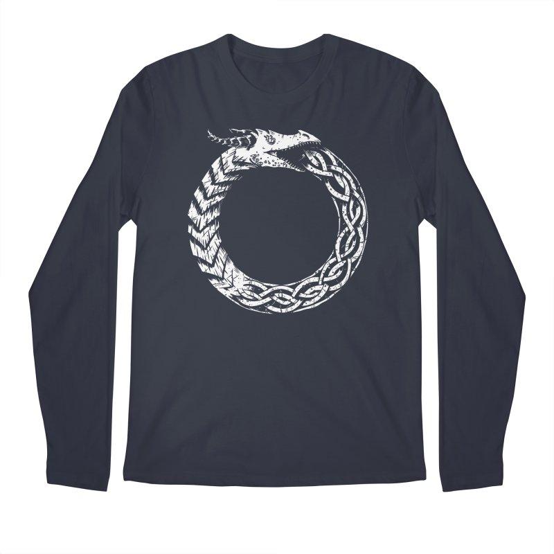Jörmungandr Men's Longsleeve T-Shirt by Keith Noordzy's Artist Shop
