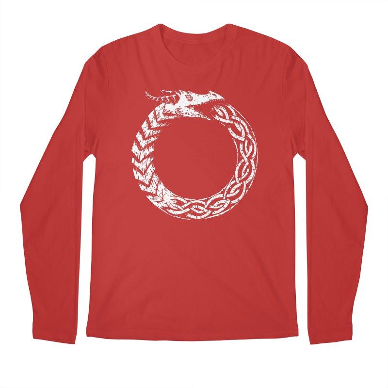 Jörmungandr Men's Regular Longsleeve T-Shirt by Keith Noordzy's Artist Shop