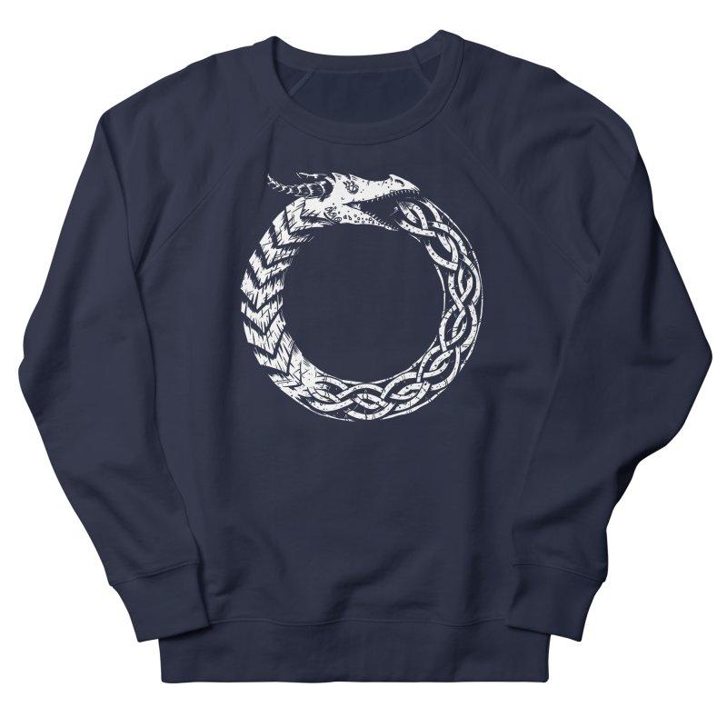 Jörmungandr Women's French Terry Sweatshirt by Keith Noordzy's Artist Shop