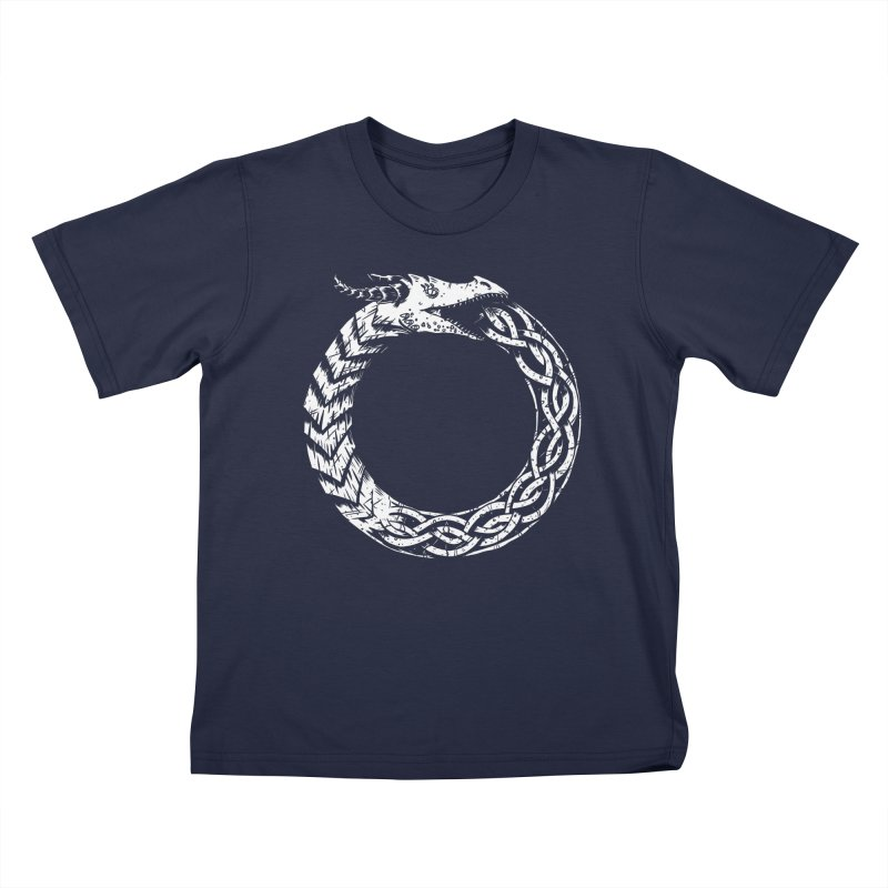 Jörmungandr Kids T-Shirt by Keith Noordzy's Artist Shop
