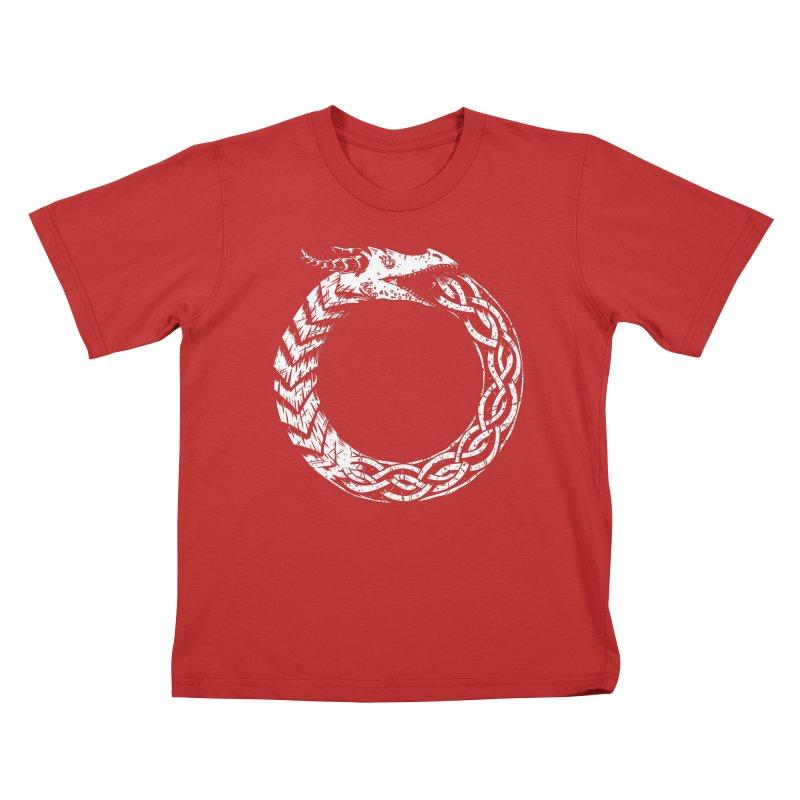 Jörmungandr Kids T-Shirt by Keith Noordzy's Artist Shop