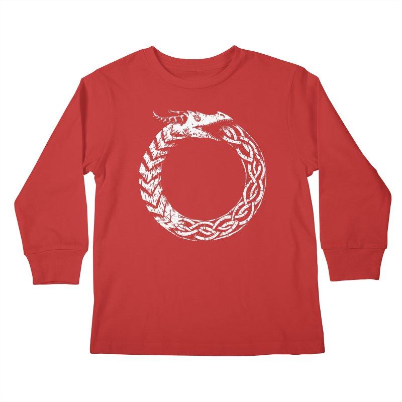 Jörmungandr Kids Longsleeve T-Shirt by Keith Noordzy's Artist Shop