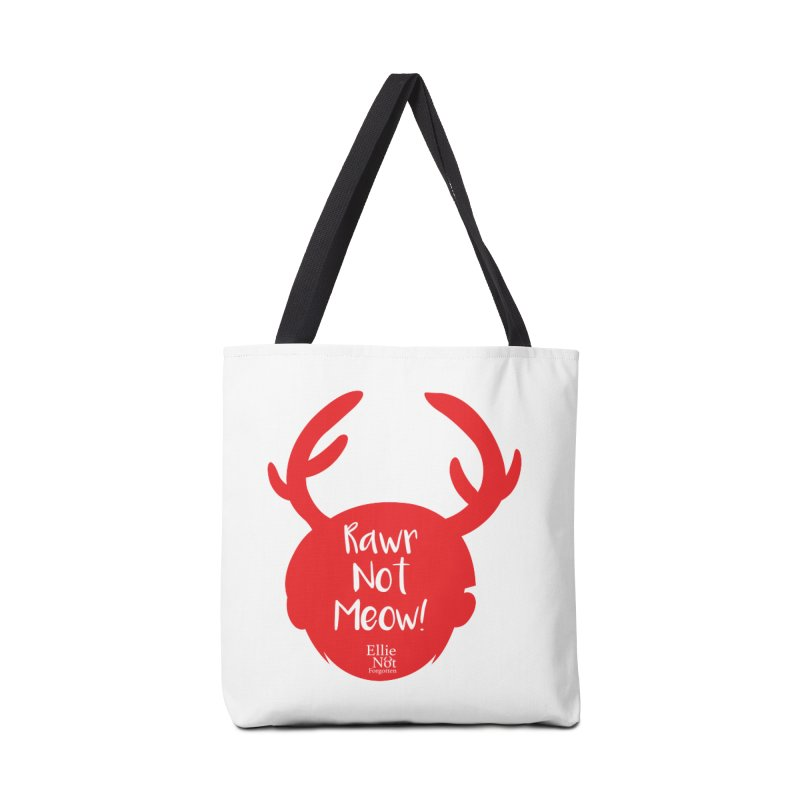 Rawr Not Meow! - Antlers Accessories Bag by Keith Noordzy's Artist Shop