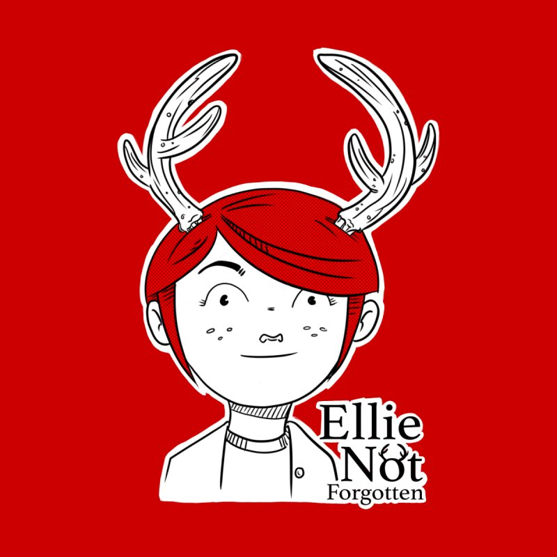 Ellie Kids T-Shirt by Keith Noordzy's Artist Shop