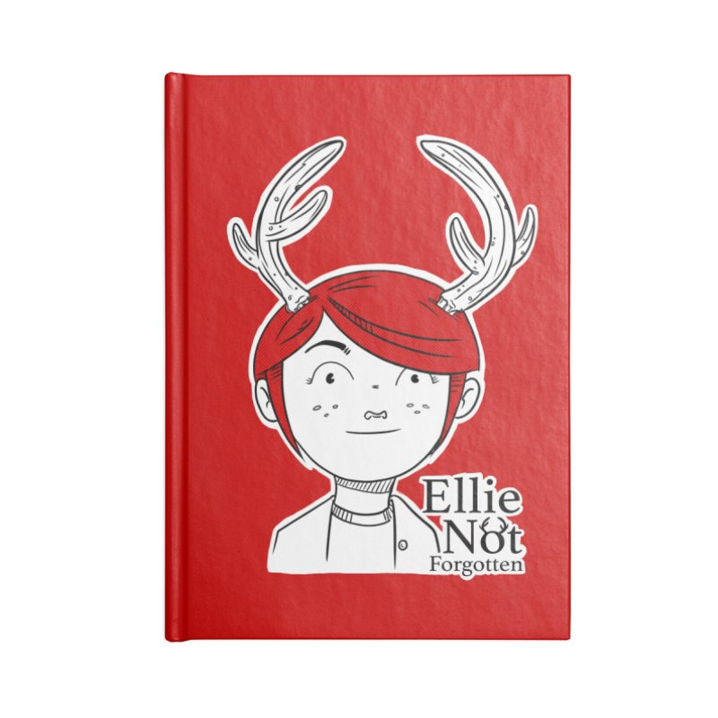 Ellie Accessories Lined Journal Notebook by Keith Noordzy's Artist Shop
