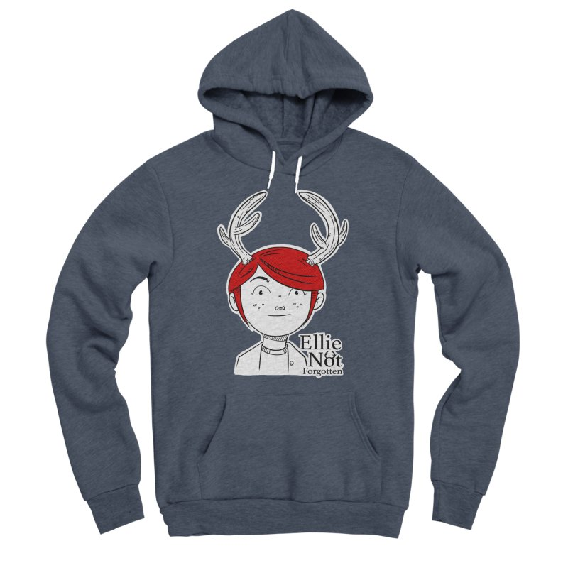 Ellie Men's Sponge Fleece Pullover Hoody by Keith Noordzy's Artist Shop