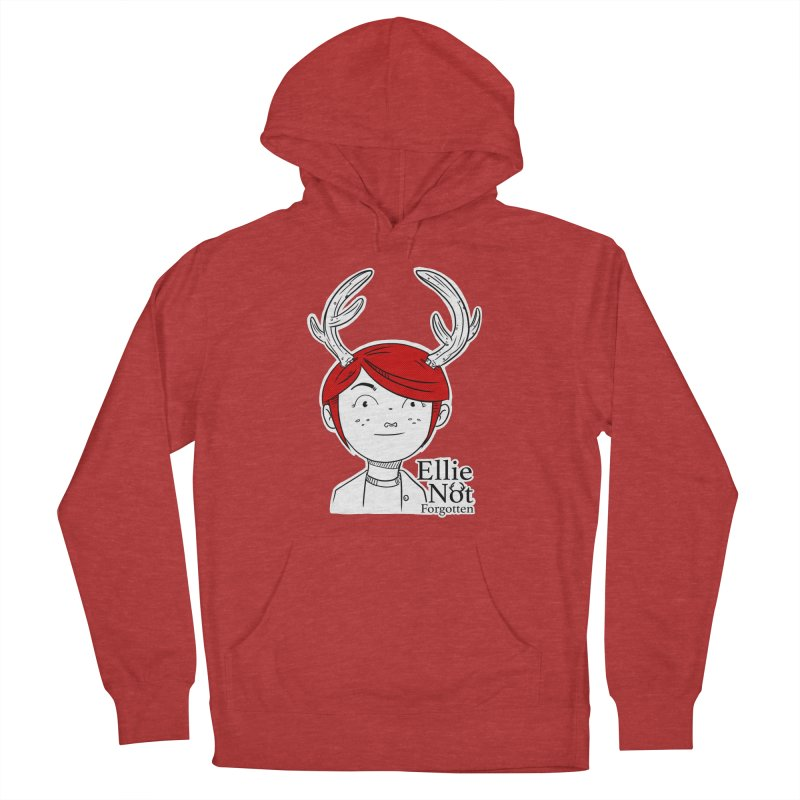 Ellie Women's French Terry Pullover Hoody by Keith Noordzy's Artist Shop