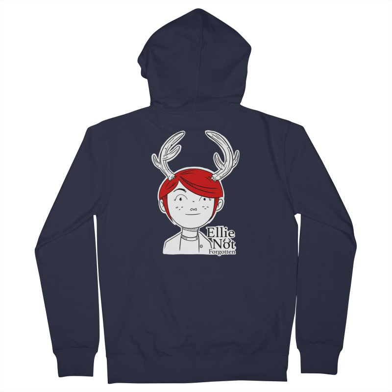 Ellie Men's Zip-Up Hoody by Keith Noordzy's Artist Shop