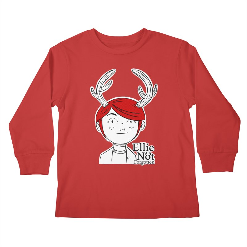 Ellie Kids Longsleeve T-Shirt by Keith Noordzy's Artist Shop