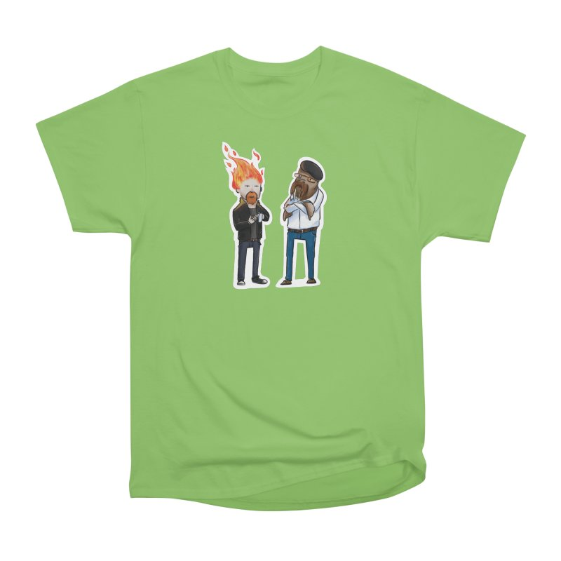 Mythbusters Men's T-Shirt by Keith Noordzy's Artist Shop
