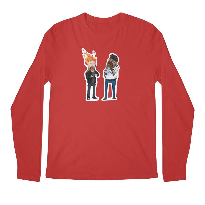 Mythbusters Men's Regular Longsleeve T-Shirt by Keith Noordzy's Artist Shop