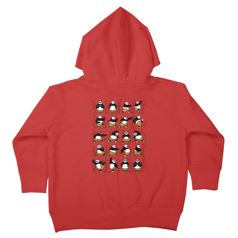 Kung Fu for Dummies Kids Toddler Zip-Up Hoody by keithxiii's Artist Shop