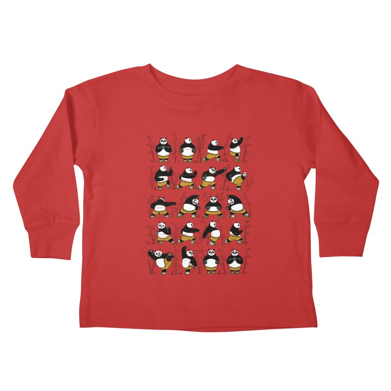 Kung Fu for Dummies Kids Toddler Longsleeve T-Shirt by keithxiii's Artist Shop