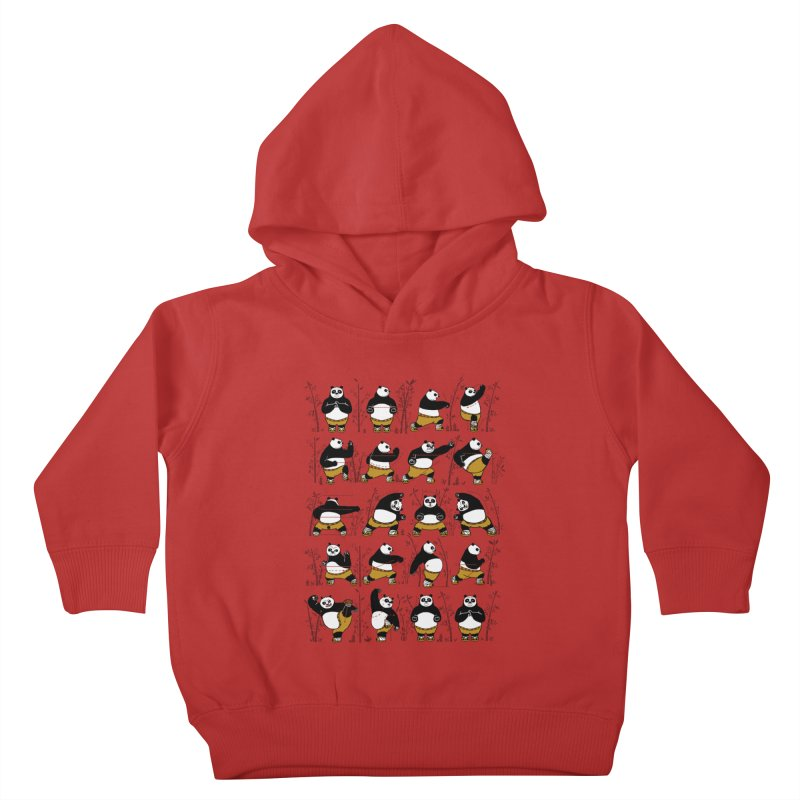 Kung Fu for Dummies Kids Toddler Pullover Hoody by keithxiii's Artist Shop