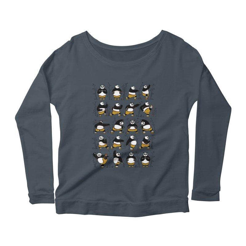Kung Fu for Dummies Women's Scoop Neck Longsleeve T-Shirt by keithxiii's Artist Shop