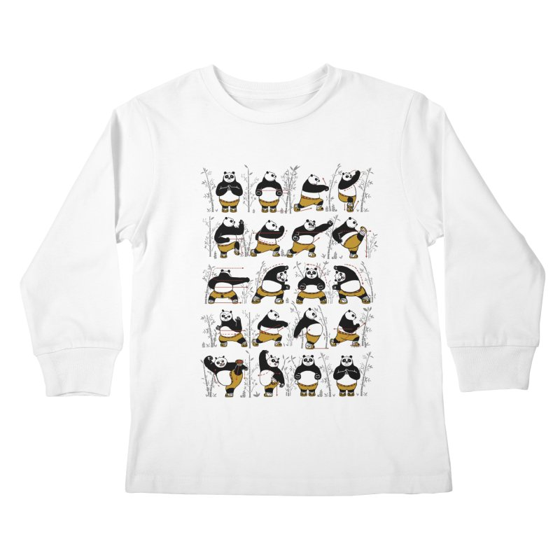 Kung Fu for Dummies Kids Longsleeve T-Shirt by keithxiii's Artist Shop