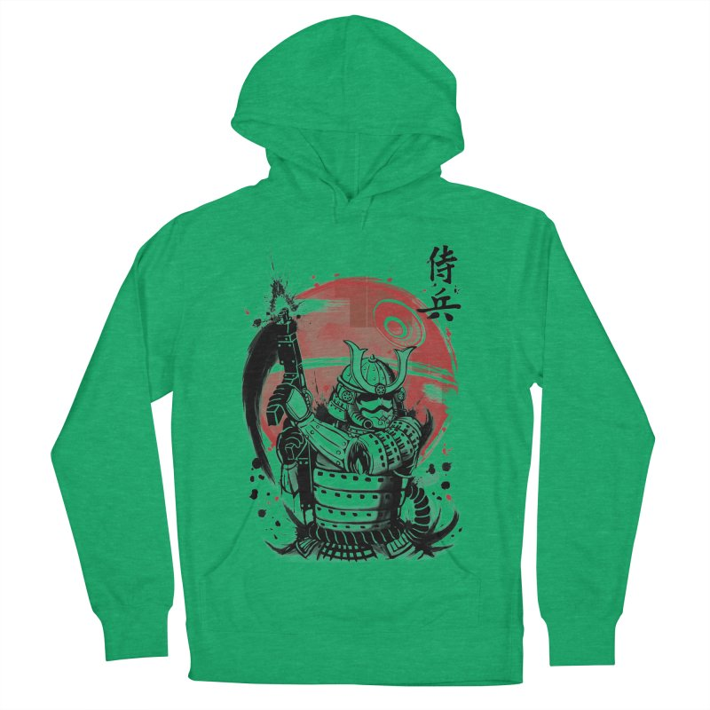 Samurai Trooper Men's French Terry Pullover Hoody by keithxiii's Artist Shop