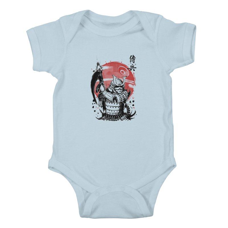 Samurai Trooper Kids Baby Bodysuit by keithxiii's Artist Shop