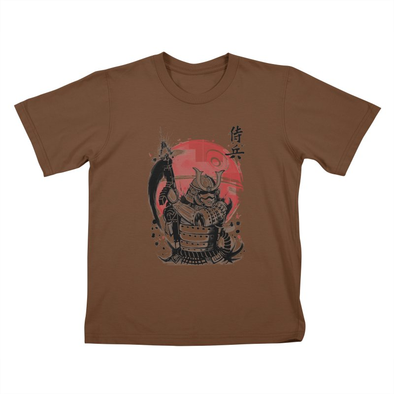 Samurai Trooper Kids T-Shirt by keithxiii's Artist Shop