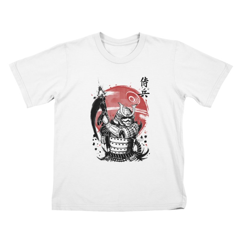 Samurai Trooper Kids T-Shirt by keithxiii's Artist Shop