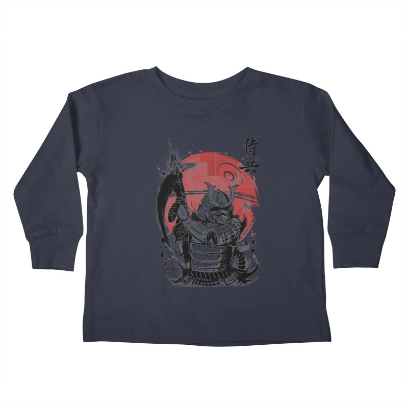 Samurai Trooper Kids Toddler Longsleeve T-Shirt by keithxiii's Artist Shop