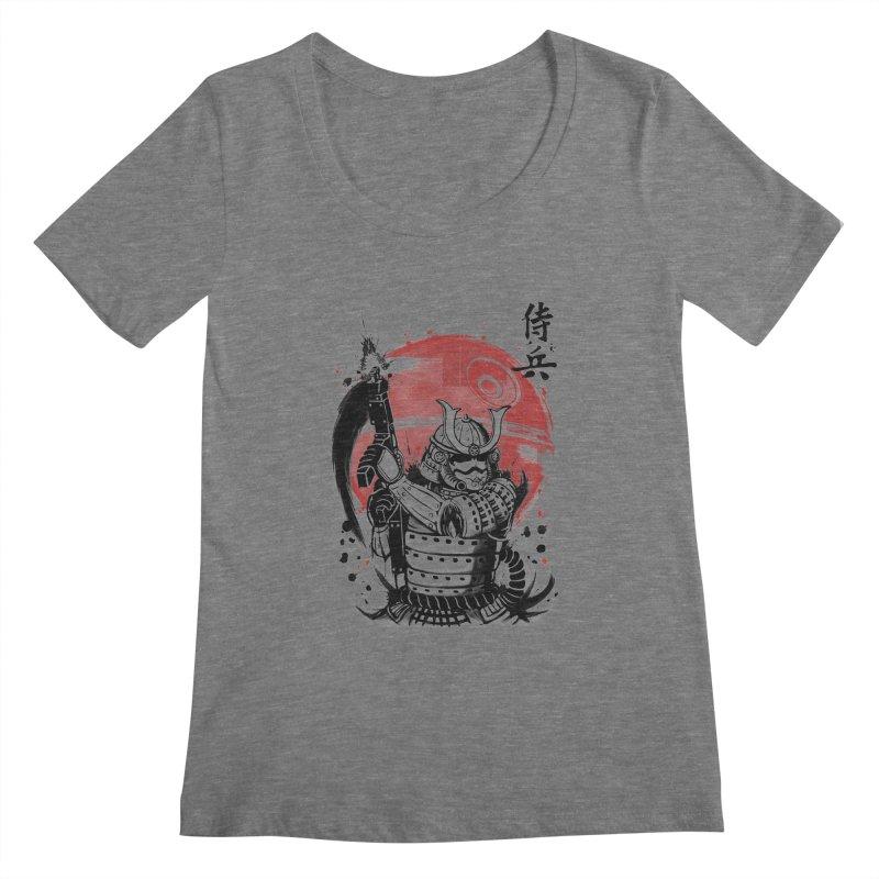 Samurai Trooper Women's Scoopneck by keithxiii's Artist Shop