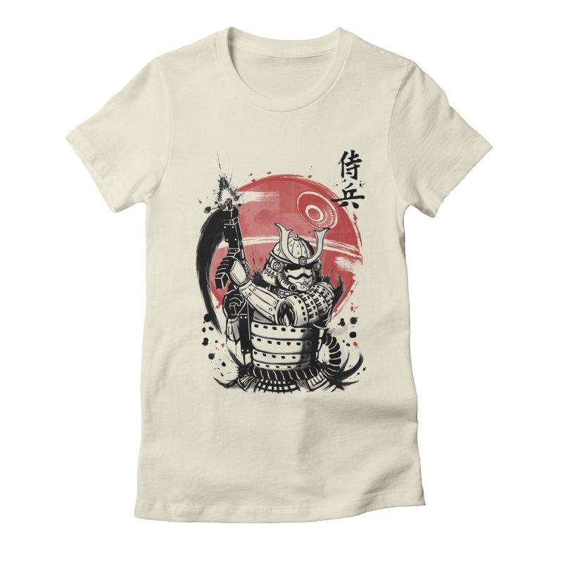 Samurai Trooper Women's Fitted T-Shirt by keithxiii's Artist Shop