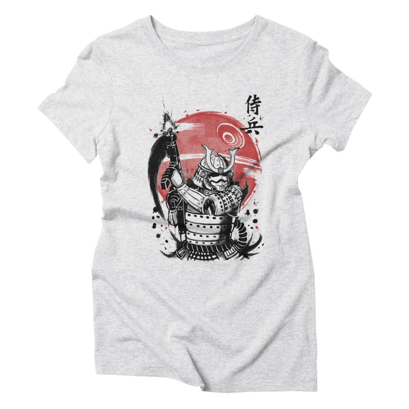 Samurai Trooper Women's Triblend T-Shirt by keithxiii's Artist Shop