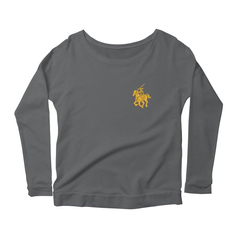 Hylian Hero Logo Version Women's Scoop Neck Longsleeve T-Shirt by keithxiii's Artist Shop