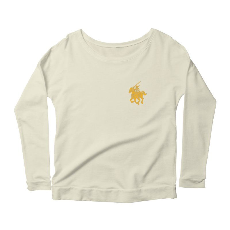 Hylian Hero Logo Version Women's Longsleeve Scoopneck  by keithxiii's Artist Shop