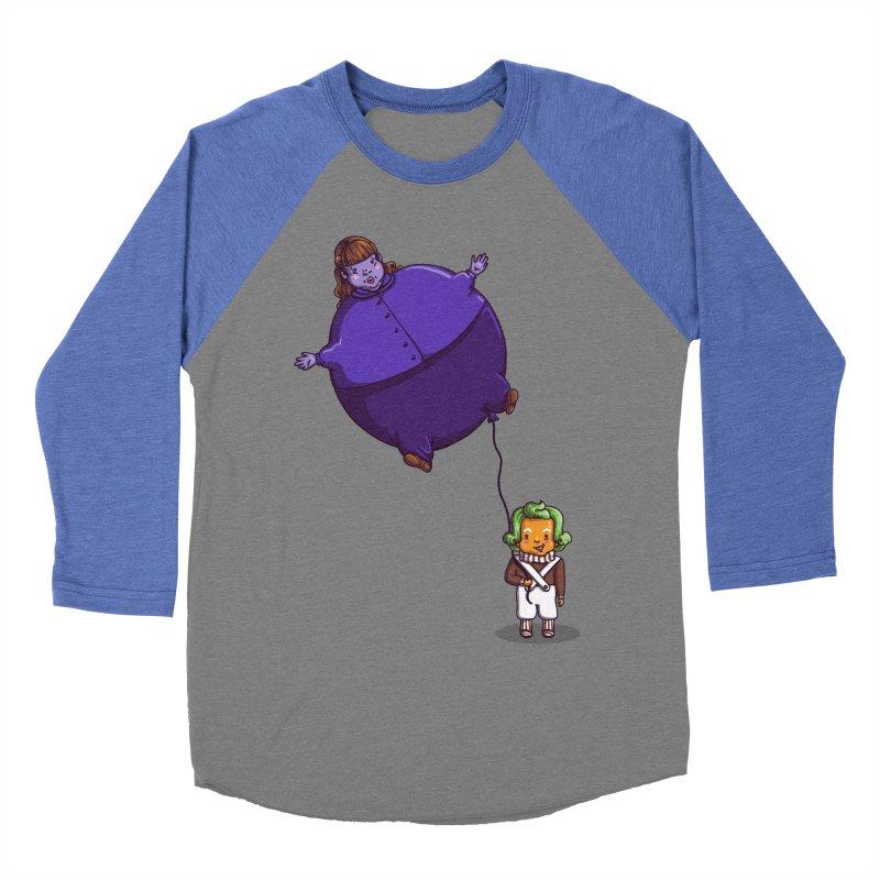Too Much Bubblegum Women's Baseball Triblend T-Shirt by kellabell9