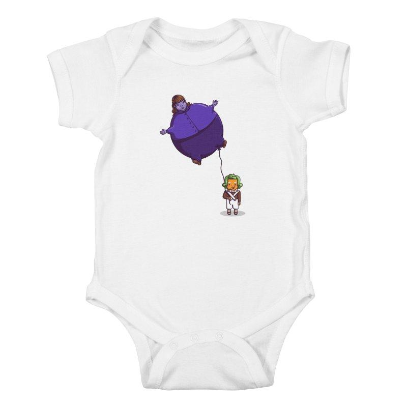 Too Much Bubblegum Kids Baby Bodysuit by kellabell9