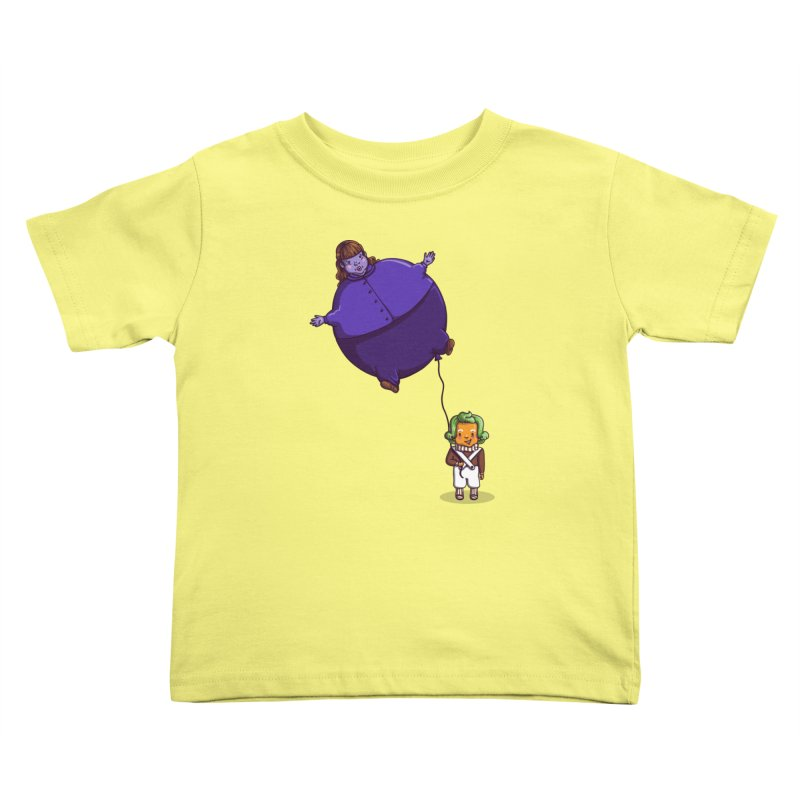 Too Much Bubblegum Kids Toddler T-Shirt by kellabell9