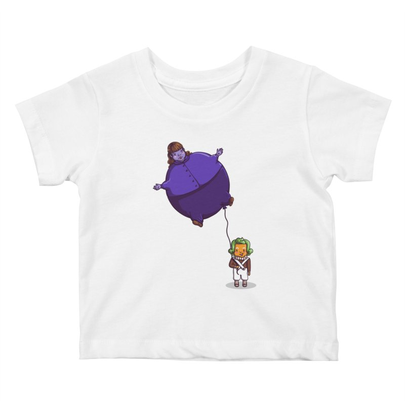 Too Much Bubblegum Kids Baby T-Shirt by kellabell9