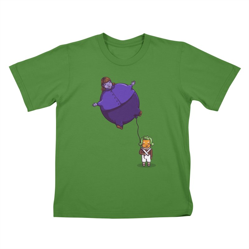 Too Much Bubblegum Kids T-Shirt by kellabell9