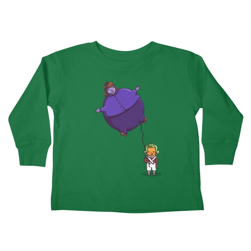 Too Much Bubblegum Kids Toddler Longsleeve T-Shirt by kellabell9